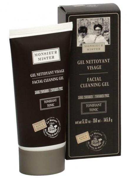 Gesichts-Reinigungsgel Gel Nettoyant Visage Homme Tonifiant 150ml