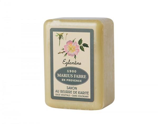 Marius Fabre Seife Heckenrose (parfumé à l'Eglantine) Shea-Butter - 150g