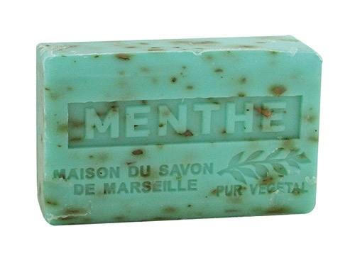 Provence Seife Menthe Broyee (Minze) - Karité 125g