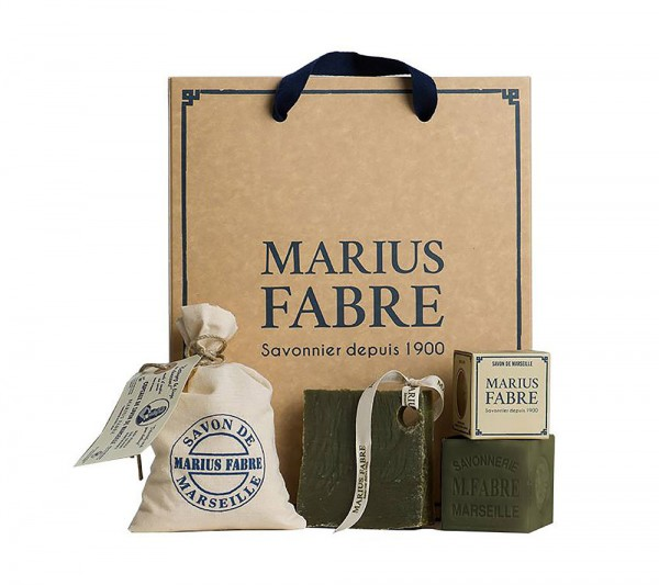 Marius Fabre Savon de Marseille NATURE Geschenk-Set - ohne Palmöl