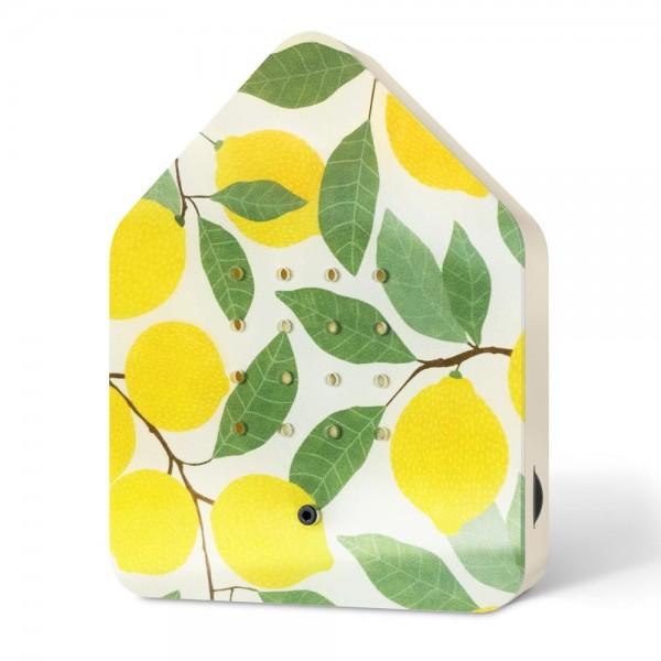 Zwitscherbox Limited Edition Zitrone Vogelgezwitscher mit Bewegungsmelder