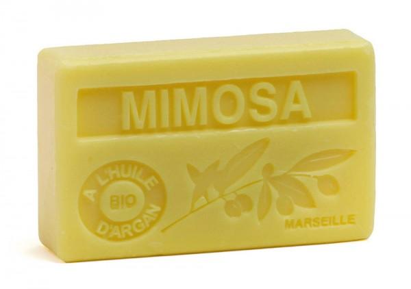 Bio-Arganöl Seife Mimosa (Mimose) - 100g