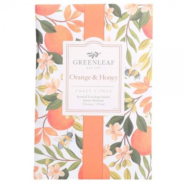 Greenleaf Duft Sachet Large - Orange & Honey - Duftsäckchen
