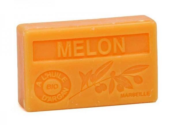 Bio-Arganöl Seife Melon (Melone) - 100g