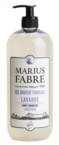 Marius Fabre Duschgel Lavendel (Lavande) Bio-Olivenöl 1L