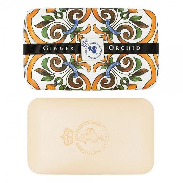 Castelbel Tile Seife Ginger & Orchid (Ingwer & Orchidee) Olivenöl-Seife - 300g