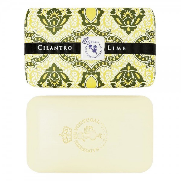 Castelbel Tile Seife Cilantro & Lime (Koriander & Limette) Olivenöl-Seife - 300