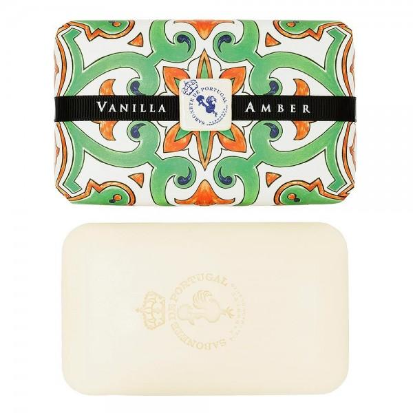 Castelbel Tile Seife Vanilla & Amber (Vanille & Amber) Olivenöl-Seife - 300g