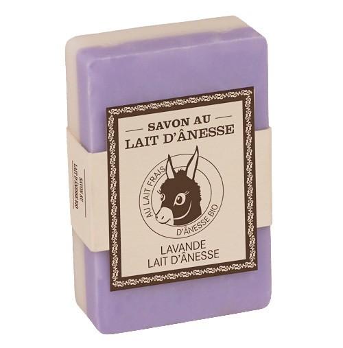 Bio-Eselsmilch Duftseife Lavande (Lavendel) Zweiseitig 125g