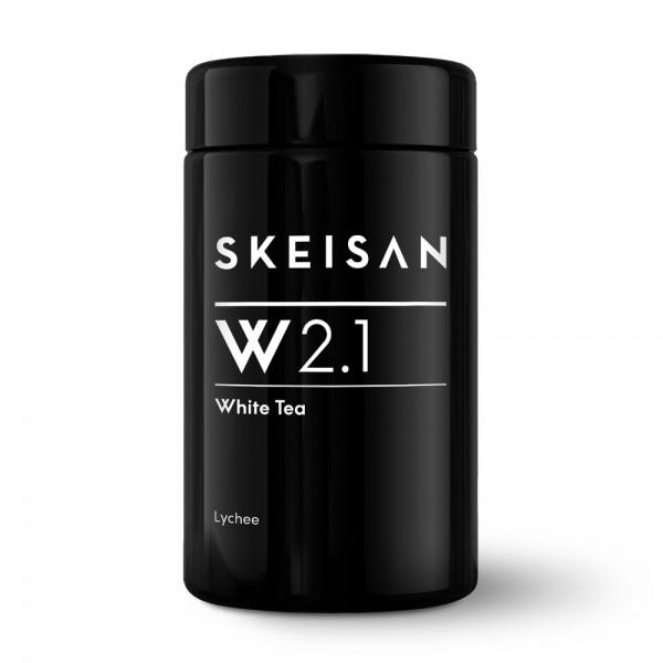 Skeisan W 2.1 Weißtee Lychee Glastiegel 60g
