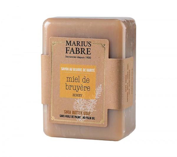 Marius Fabre Bio-Olivenöl Seife Honig (Miel) mit Shea-Butter ohne Palmöl 150g