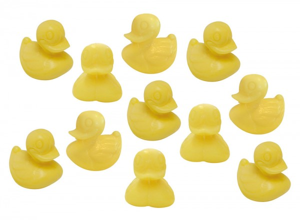 10 x Seife Ente Gelb Zitrone (Citron) Kinderseife Tierseife Motivseife 10x25g