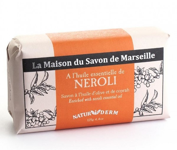 Natürliche Seife Naturiderm Neroli - Ohne EDTA - 125g