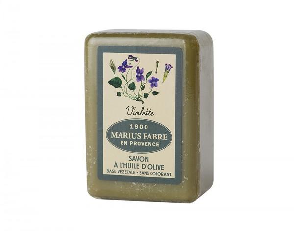 Marius Fabre Bio-Olivenöl Seife Veilchen (Violette) Shea-Butter - 150g