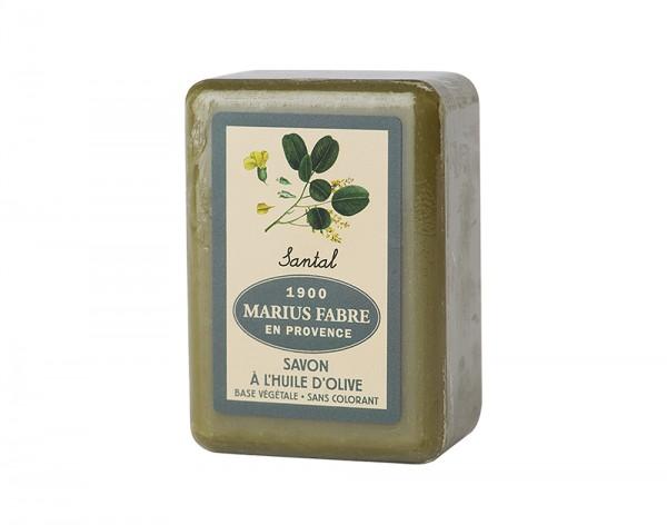 Marius Fabre Bio-Olivenöl Seife Sandelholz (parfumé au Santal) Shea-Butter - 150g