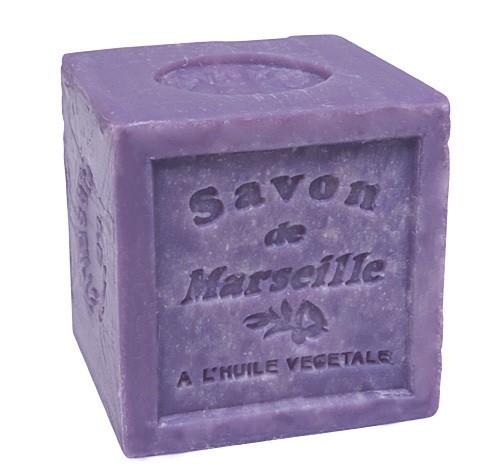 Savon de Marseille Seifenblock Lavendel 72% Pflanzenöl 300g