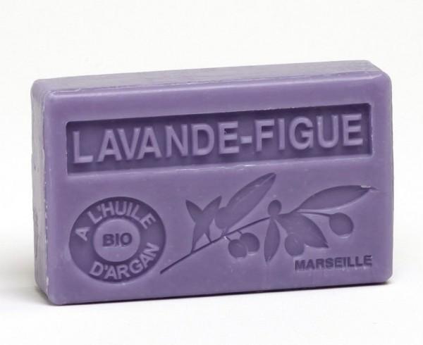 Bio-Arganöl Seife - Lavande-Figue (Lavendel-Feige) - 100g