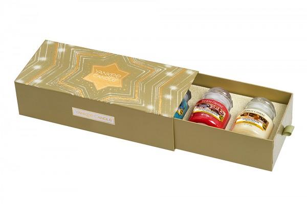 Yankee Candle Geschenkset Holiday Sparkle 3 Kleine Kerzengläser