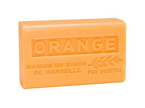 Provence Seife Orange (Orangenduft) - Karité 125g