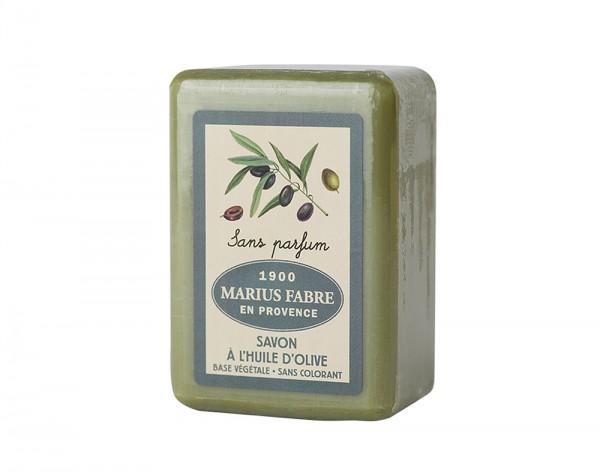 Marius Fabre Bio-Olivenöl Seife Neutral (ohne Parfumzusätze) Shea-Butter - 150g