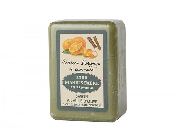 Marius Fabre Bio-Olivenöl Seife Orange & Zimt (Orange et Cannelle) Shea-Butter - 150g