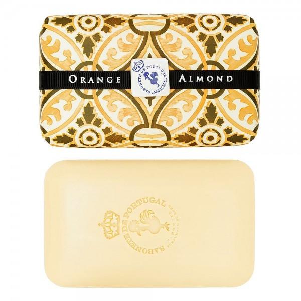 Castelbel Tile Seife Orange & Almond (Orange & Mandel) Olivenöl-Seife - 300g