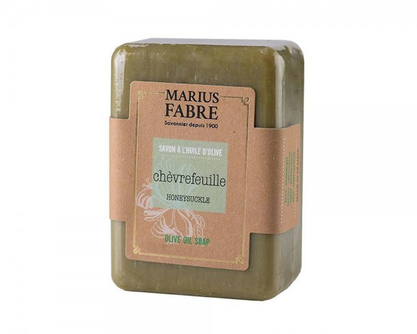 Marius Fabre Olivenöl Seife Geißblatt (Chèvrefeuille) Shea-Butter - 150g