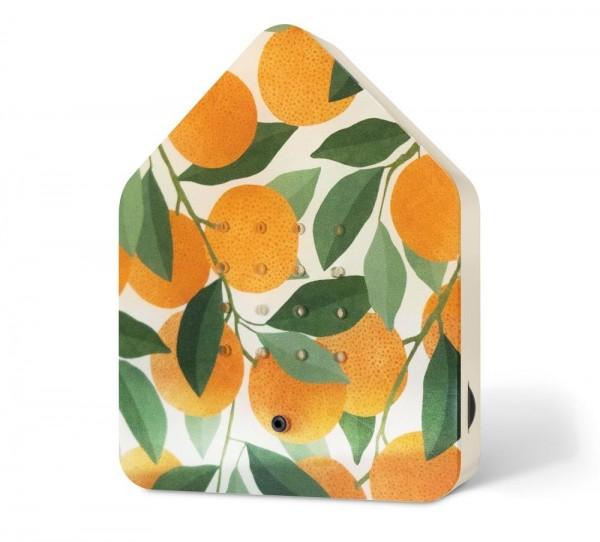 Zwitscherbox Limited Edition Orange Vogelgezwitscher mit Bewegungsmelder
