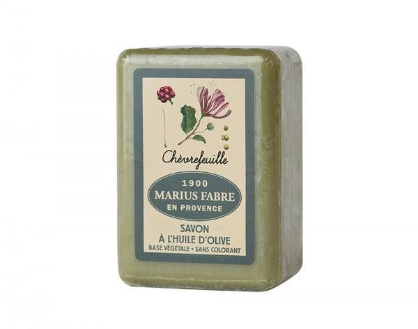 Marius Fabre Bio-Olivenöl Seife Geißblatt (Chèvrefeuille) Shea-Butter - 150g