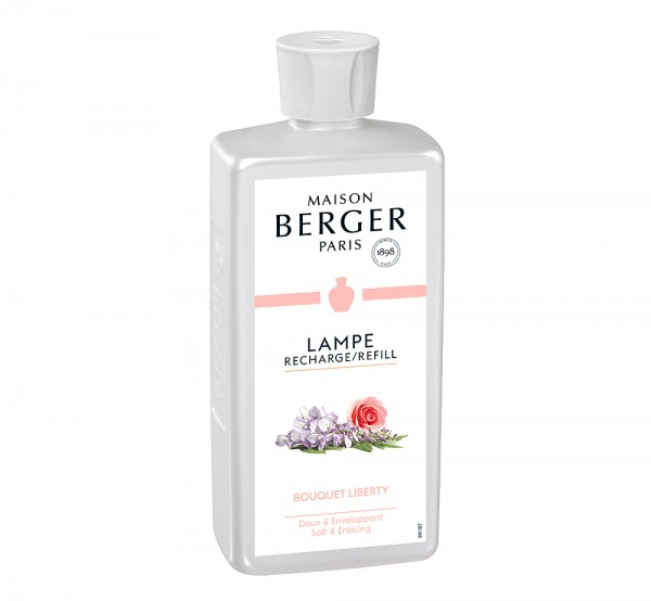Lampe Berger Duft Frühlingshafte Leichtigkeit (Liberty) - 500 ml