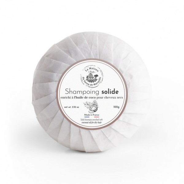 Provence Festes Shampoo Huile de Coco (Kokusnussöl) 100g