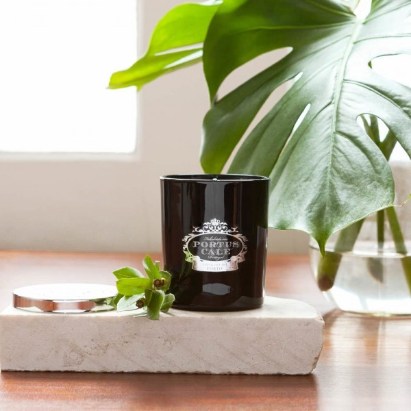 Castelbel Portus Cale Black Edition Duftkerze Candle im schwarzen Glasbehälter