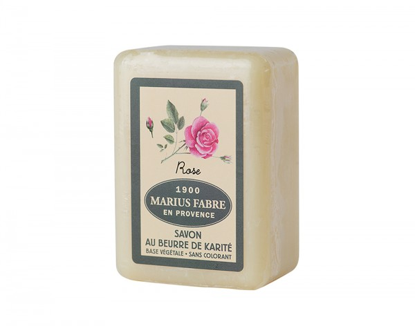 Marius Fabre Seife Rose (Rosenduft) Shea-Butter - 150g