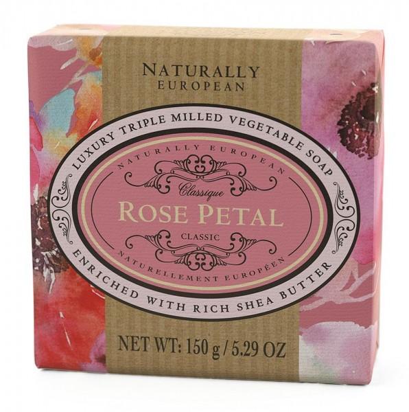Naturally European Seife Rose Petal 150g