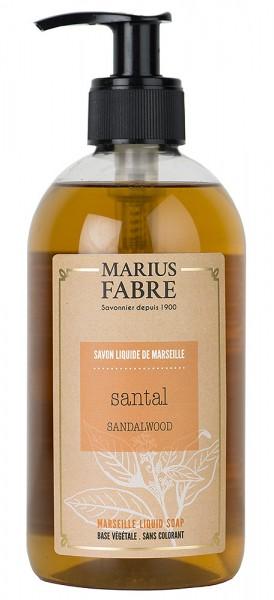 Marius Fabre Flüssigseife Sandelholz (Santal) mit Bio-Olivenöl 400ml